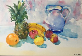 Phil Hatter: Fruit and Jug