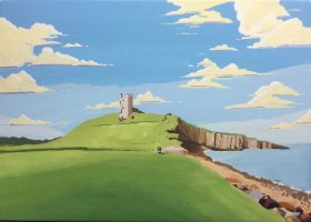 Phil Hatter: Dunstanburgh Castle