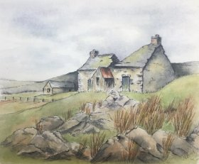 "Margaret Boyd: ""Derelict Cottage"""