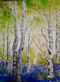"Christine Mounfield:  ""Bluebells and Birches"""