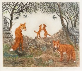 "Marie South: ""The Fox Family"""
