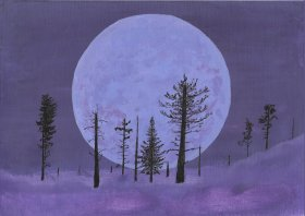 David Brocklehurst: Winter Moon
