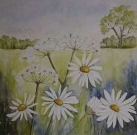 "Christine Mounfield:  ""Summer Meadow"""